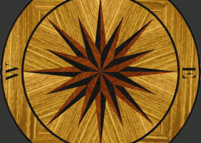 intarzije_medaljon_cetiri vjetra1- Four winds